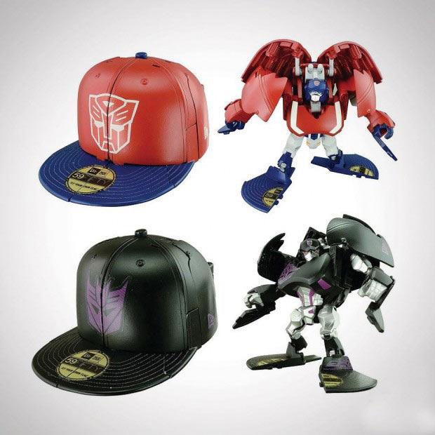 Bonés da New Era que viram Transformers a17f0fa1784
