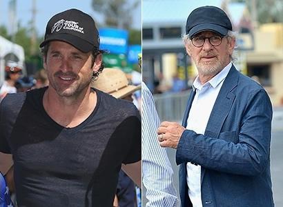 Patrick Dempsey e Steven Spielberg 6014298e4d8